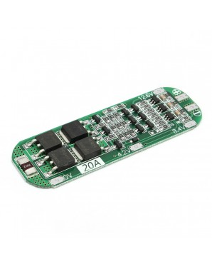 5pcs 3S 20A Li  ion Lithium Battery 18650 Charger PCB BMS Protection Board 12 6V Cell