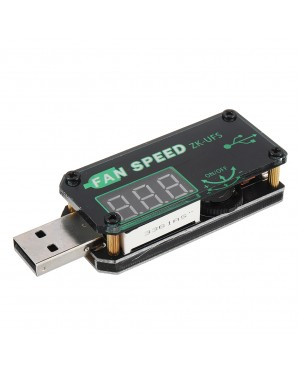 5V USB Cooling Fan Governor LED Dimming Module Low Power Timer Board