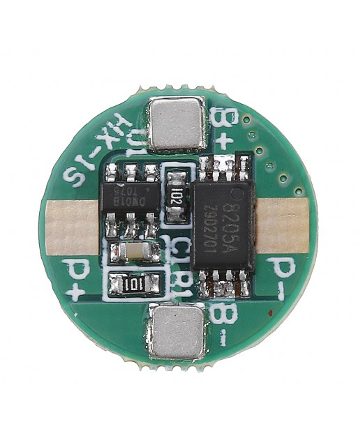20pcs 1S 3 7V 18650 Lithium Battery Protection Board 2 5A Li  ion BMS with Overcharge and Over Discharge Protection