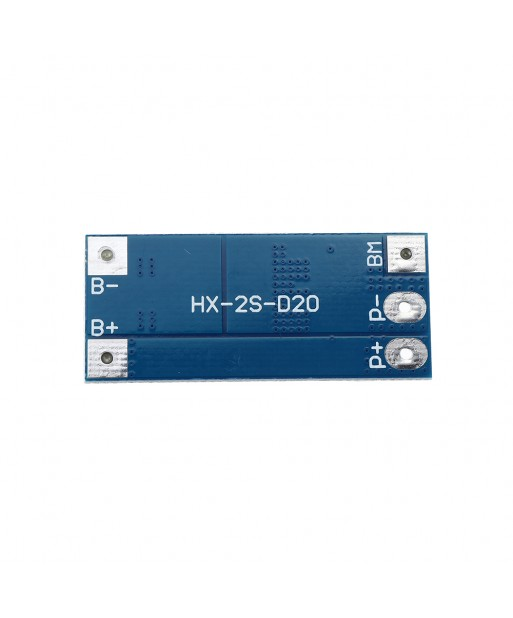 20pcs 2S 10A 7 4V 8 4V 18650 Lithium Battery Protection Board Balanced Function Overcharged Protection