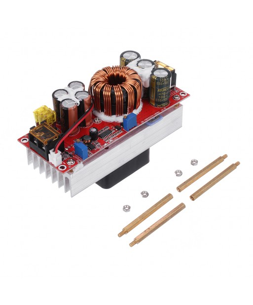 1200W 1800W 30A High Current DC  DC DC Constant Voltage Constant Current Boost Power Supply Module Electric Vehicle Booster