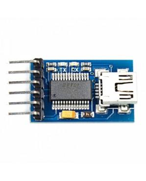 FT232RL USB to Serial 232 TTL Adapter Module for Funduino  3 3  5V  Blue