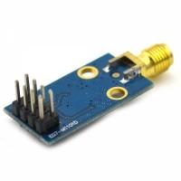 Industrial SMA Interface CC1101 Wireless Module 433M Digital Transmission Module Blue
