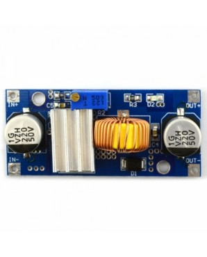03100432 DC  DC Adjustable Step  down Module Blue