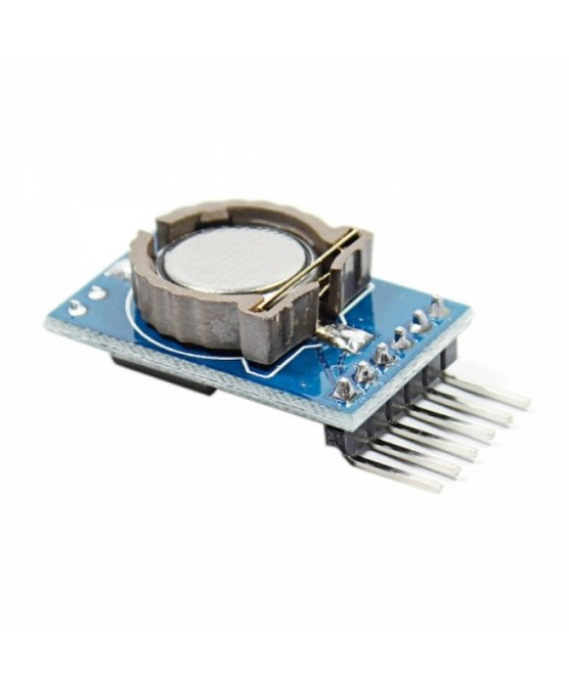 DS1302 Real Time Clock Module with Battery CR1220 Blue