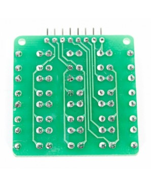 4 x 4 16  Key MCU Extension Matrix Keyboard Module for   Work with Official  Boards  Green