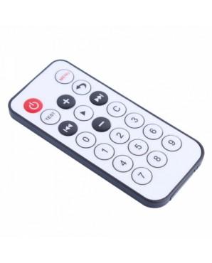 Mini 20  key 8m IR Remote Controller Black