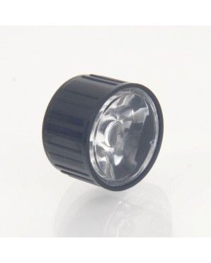 06100005M Power LED Lens 45 Degree Viewing Angle Black